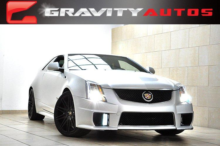 2013 cadillac cts v coupe stock 154955 for sale near sandy springs ga ga cadillac dealer. Black Bedroom Furniture Sets. Home Design Ideas