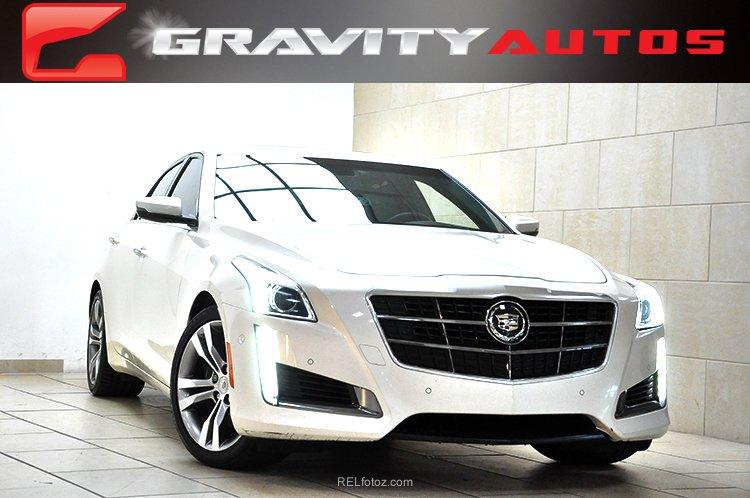 2014 cadillac cts sedan vsport premium rwd stock 185674 for sale near sandy springs ga ga. Black Bedroom Furniture Sets. Home Design Ideas