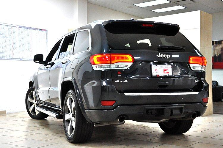 2014 jeep grand cherokee overland stock 178743 for sale near sandy springs ga ga jeep dealer. Black Bedroom Furniture Sets. Home Design Ideas
