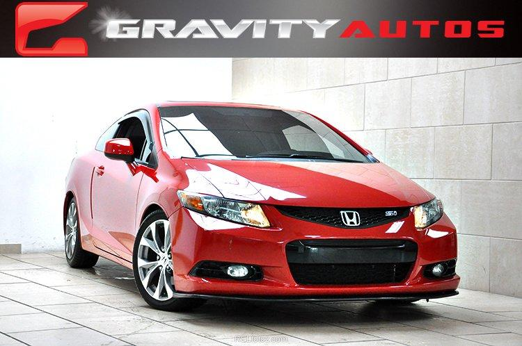 2012 honda civic cpe si stock 705065 for sale near sandy springs ga ga honda dealer. Black Bedroom Furniture Sets. Home Design Ideas