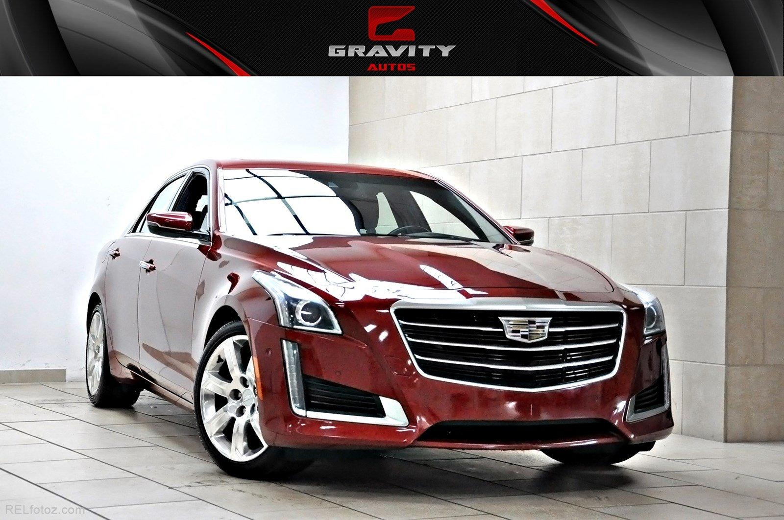 2015 Cadillac CTS Sedan Premium RWD Stock # 118666 for ...