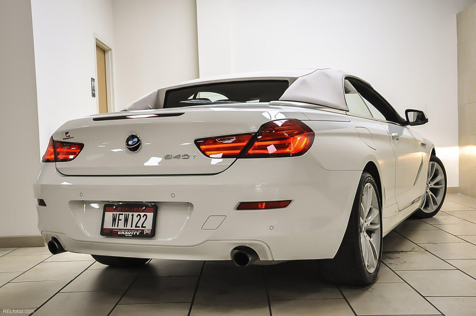 Gravity Autos Roswell >> 2015 BMW 6 Series 640i Stock # 595967 for sale near Sandy Springs, GA | GA BMW Dealer