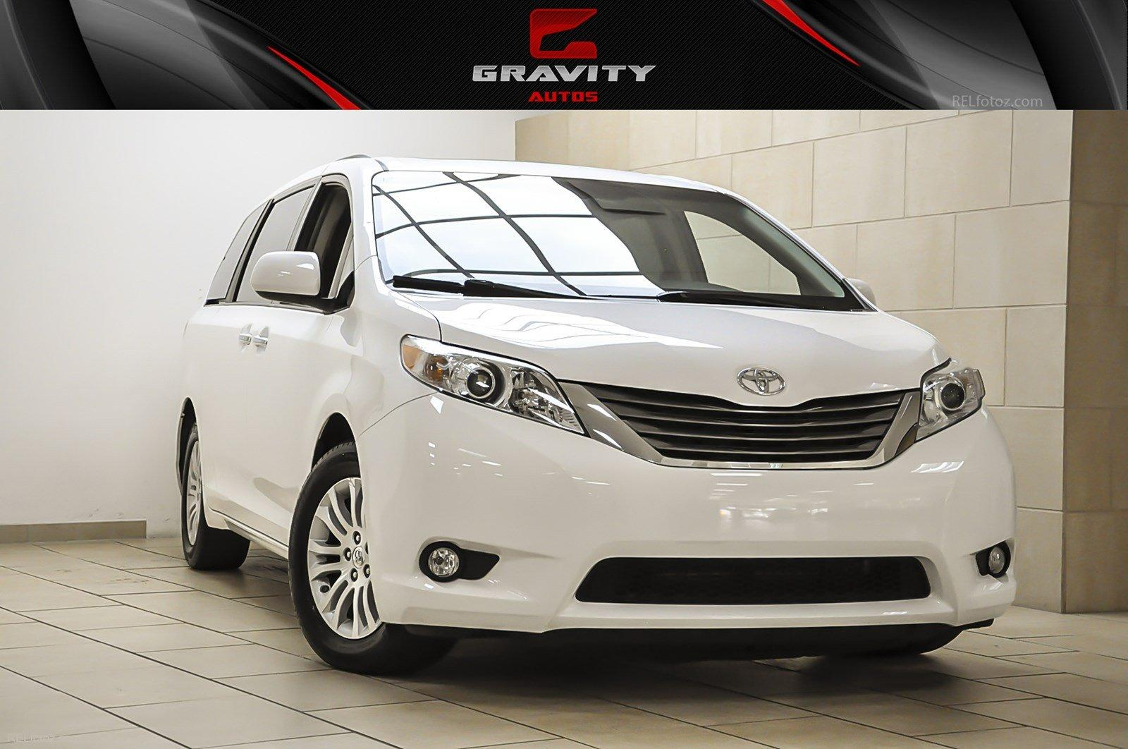 2011 Toyota Sienna Xle Aas Stock 052018 For Sale Near