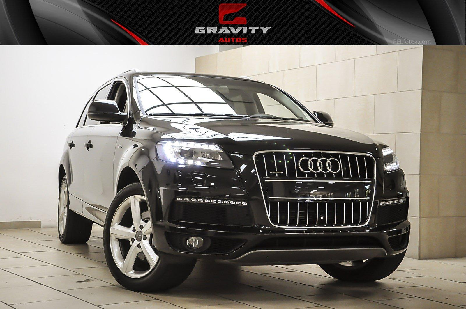 2013 audi q7 3 0t s line prestige stock 013427 for sale near sandy springs ga ga audi dealer. Black Bedroom Furniture Sets. Home Design Ideas