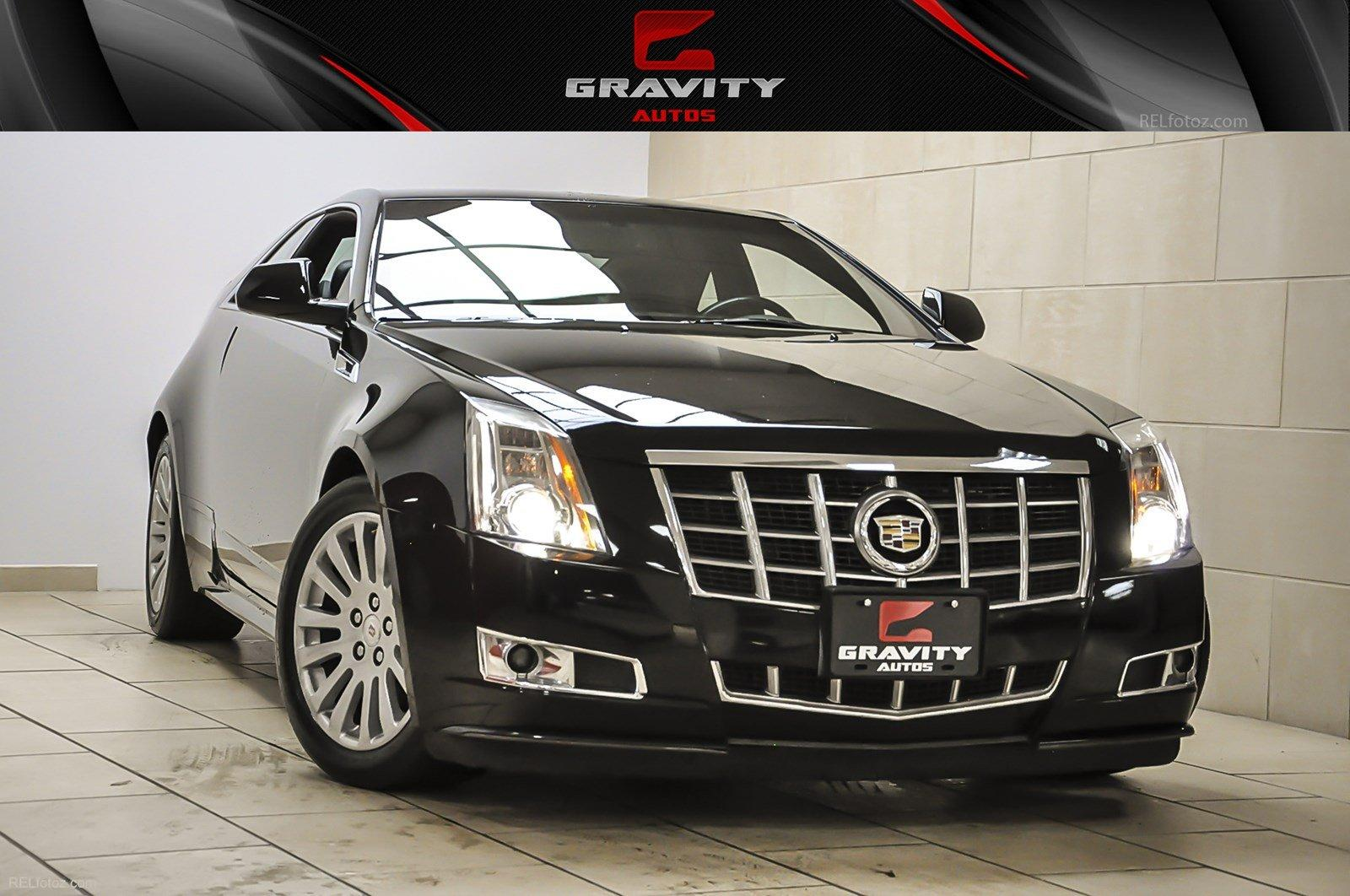 2012 Cadillac Cts Coupe Performance Stock 148707 For