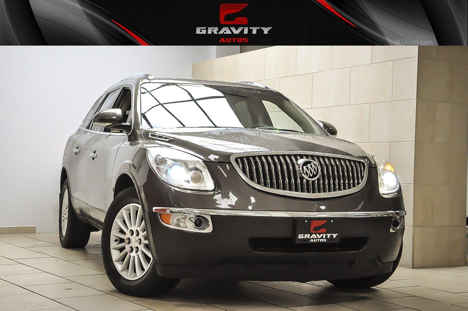 used auto driven at fwd forest oak leather buick enclave of detail