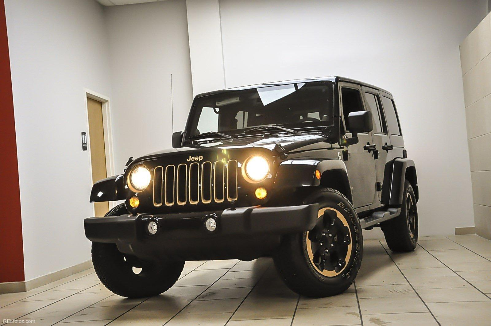 2014 Jeep Wrangler Unlimited Dragon Edition Stock 150145 For Sale Near Sandy Springs Ga Ga Jeep Dealer