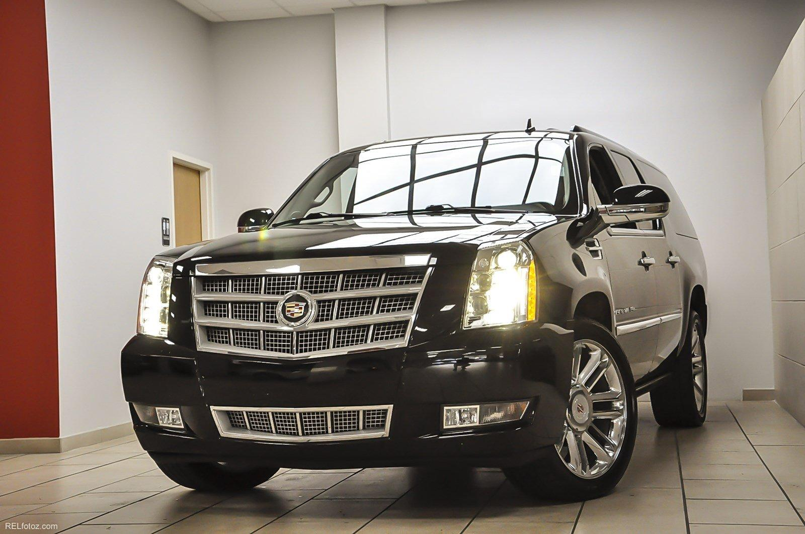 2014 Cadillac Escalade Esv Platinum Stock 234093 For