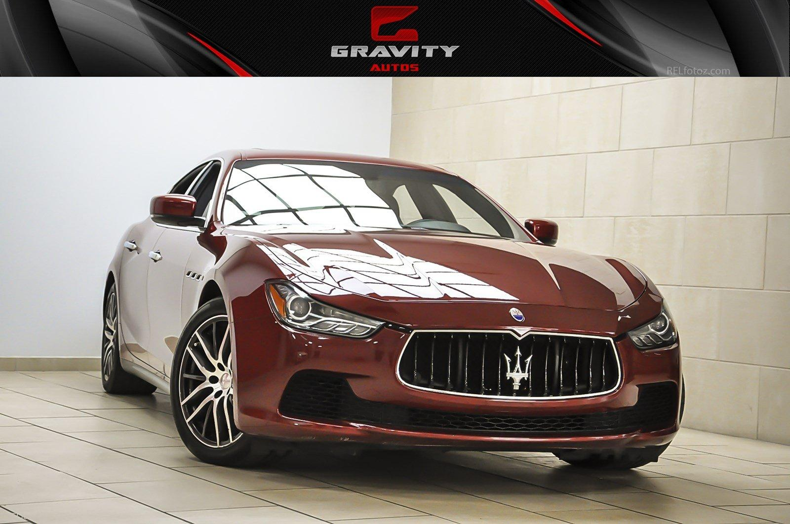 2014 Maserati Ghibli S Q4 Stock 123192 For Sale Near Sandy Springs