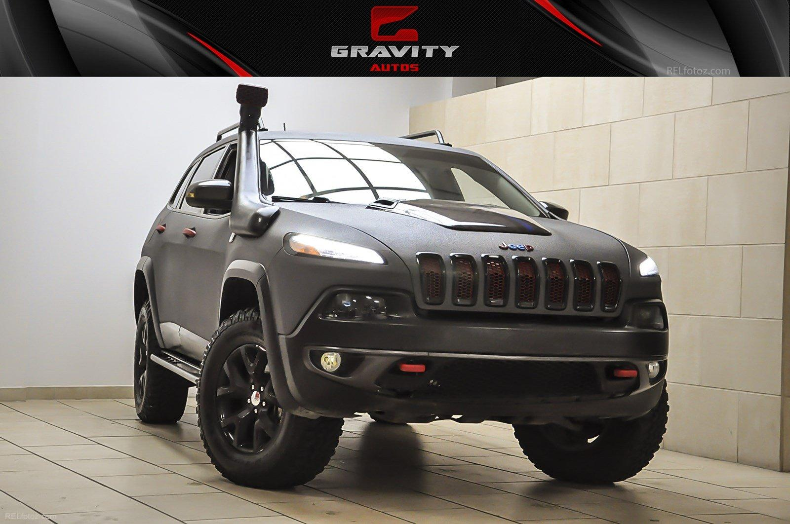 2014 Jeep Cherokee Trailhawk Stock # 239853 for sale near Sandy Springs, GA | GA Jeep Dealer