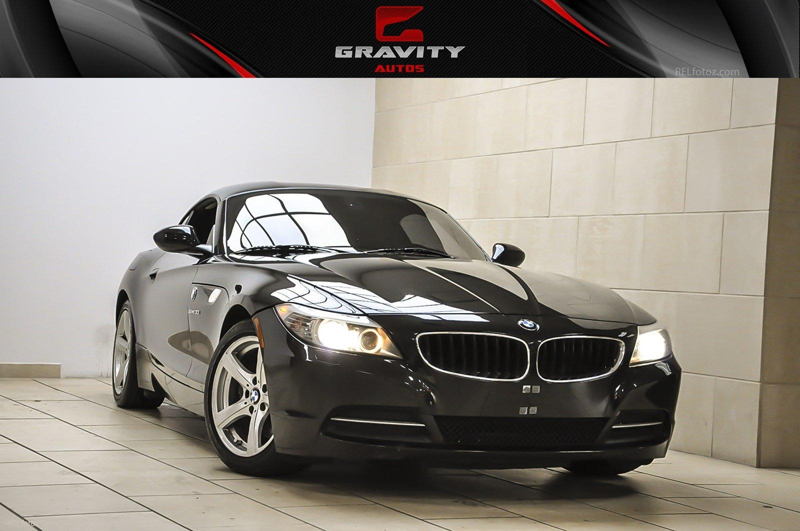 2009 bmw z4 sdrive30i stock 161019 for sale near sandy springs ga ga bmw dealer. Black Bedroom Furniture Sets. Home Design Ideas
