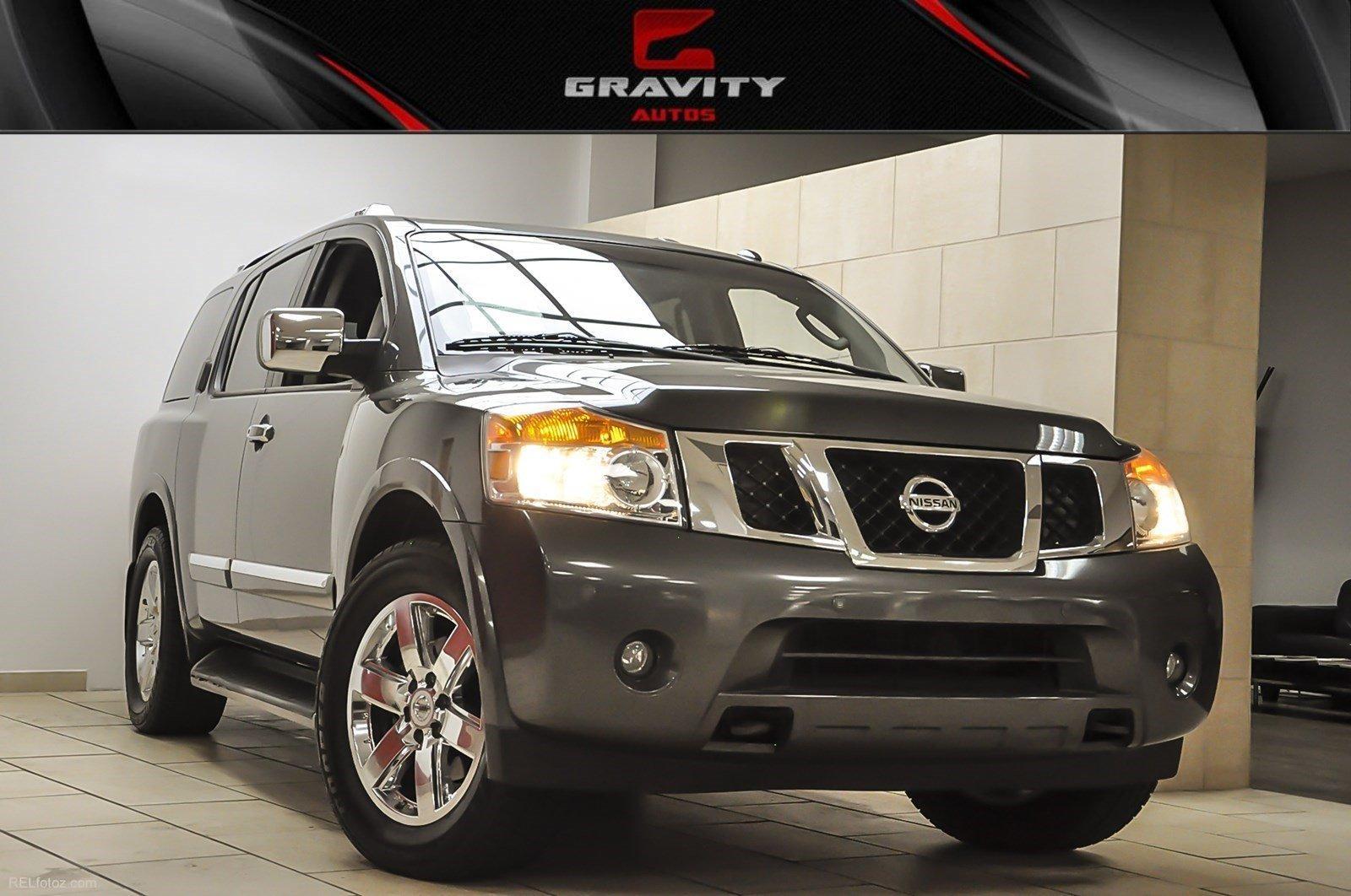 Used 2012 Nissan Armada Platinum | Sandy Springs, GA