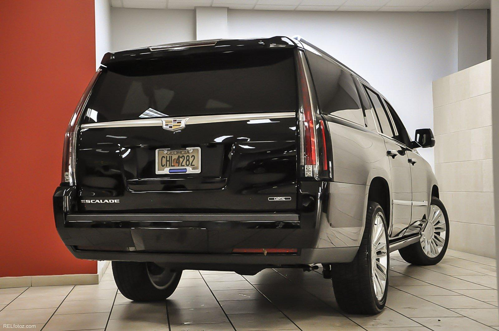 2018 Cadillac Escalade Esv Platinum Stock 144927 For