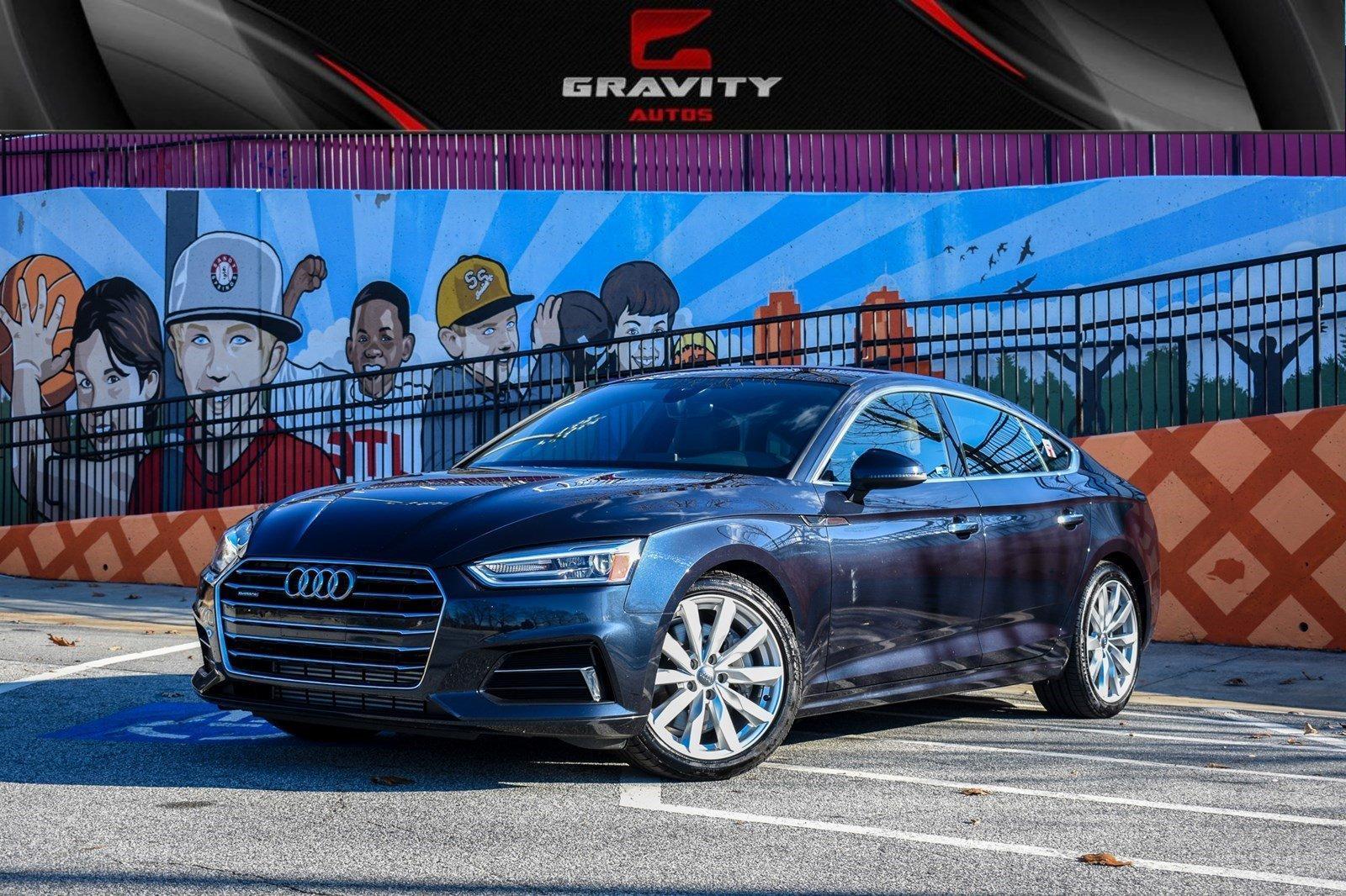 Gravity Auto Sandy Springs >> 2018 Audi A5 Sportback Premium Stock 103667 For Sale Near Sandy
