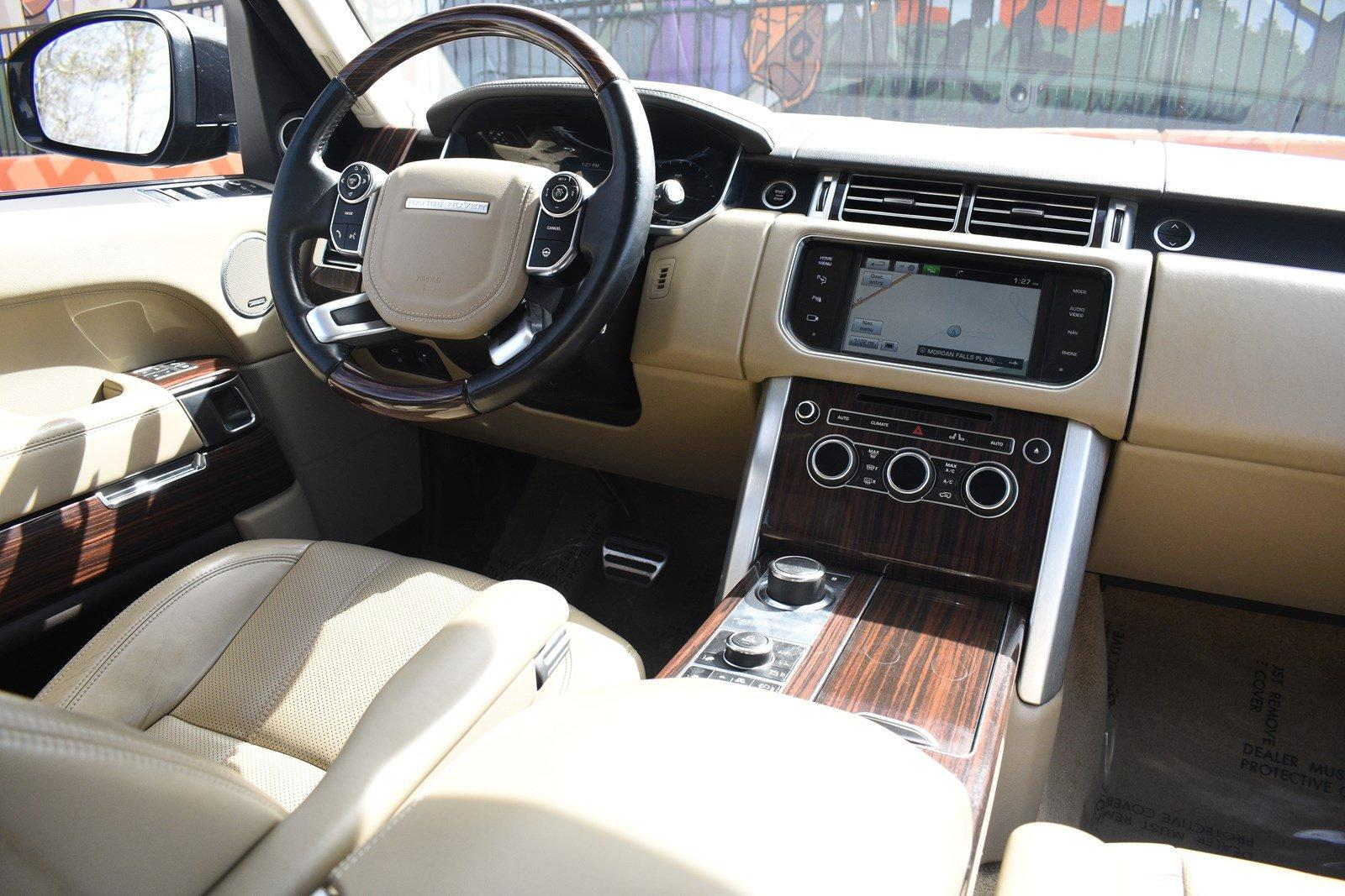 2014 Land Rover Range Rover 5 0L V8 Supercharged Stock