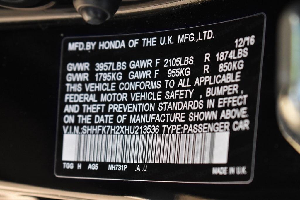 Used 2017 Honda Civic LX | Sandy Springs, GA