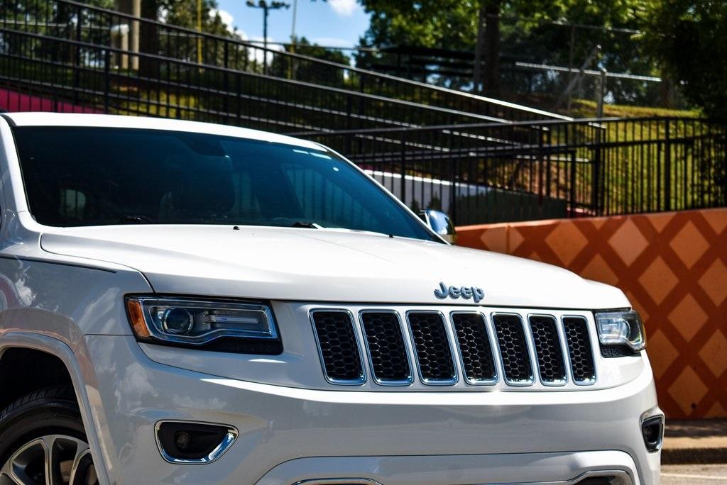Used 2015 Jeep Grand Cherokee Overland | Sandy Springs, GA