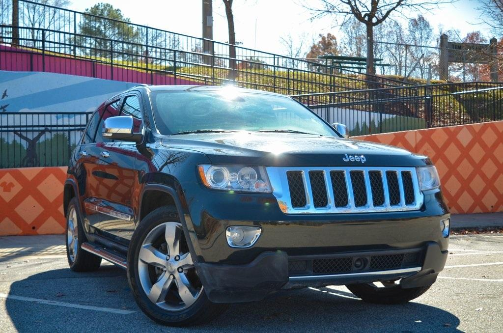 Used 2013 Jeep Grand Cherokee Overland | Sandy Springs, GA