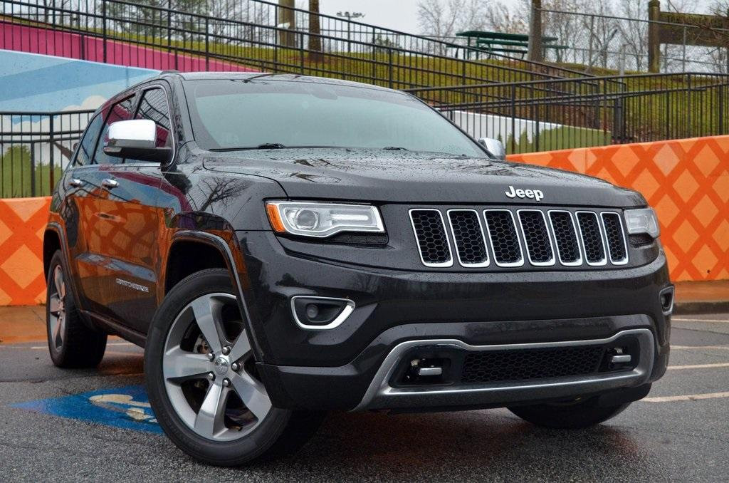 Used 2015 Jeep Grand Cherokee Overland | Sandy Springs, GA