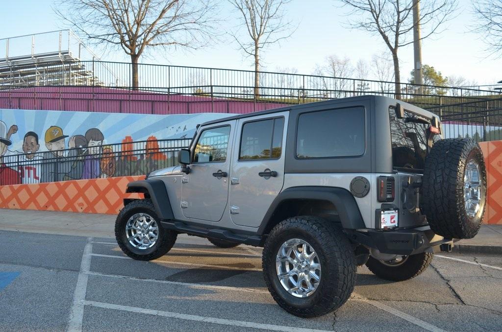 Used 2017 Jeep Wrangler Unlimited Sport | Sandy Springs, GA