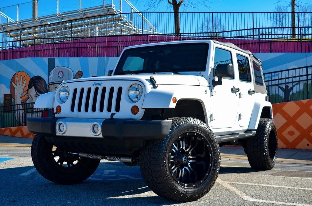 Used 2013 Jeep Wrangler Unlimited Sahara | Sandy Springs, GA