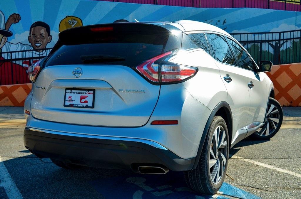 Used 2016 Nissan Murano Platinum   Sandy Springs, GA