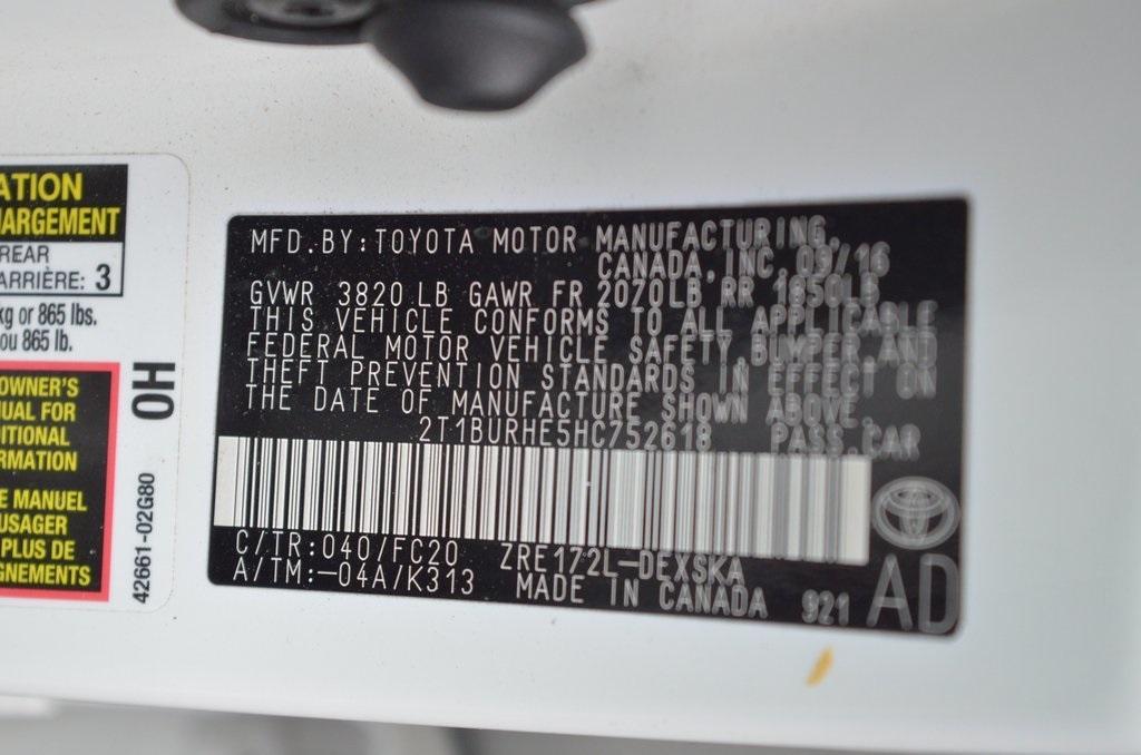 Used 2017 Toyota Corolla SE | Sandy Springs, GA