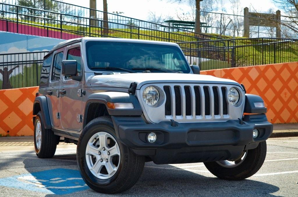 Used 2019 Jeep Wrangler Unlimited Sport | Sandy Springs, GA