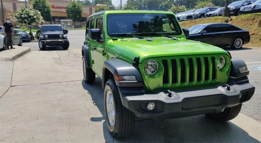 Used 2020 Jeep Wrangler Unlimited Sport | Sandy Springs, GA