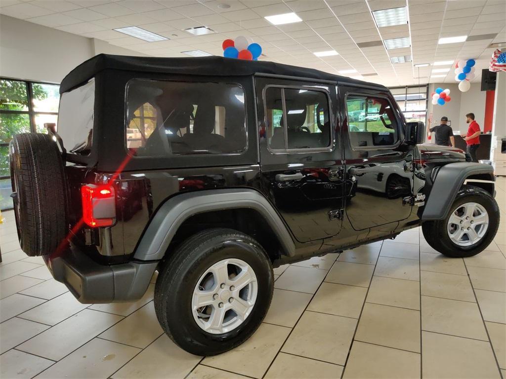 Used 2018 Jeep Wrangler Unlimited Sport | Sandy Springs, GA