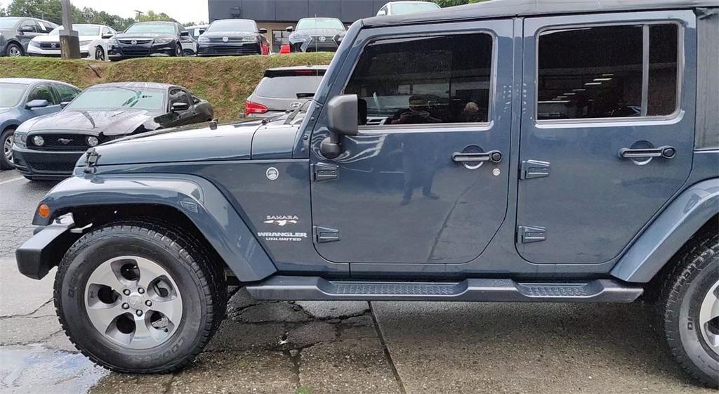 Used 2017 Jeep Wrangler Unlimited Sahara | Sandy Springs, GA
