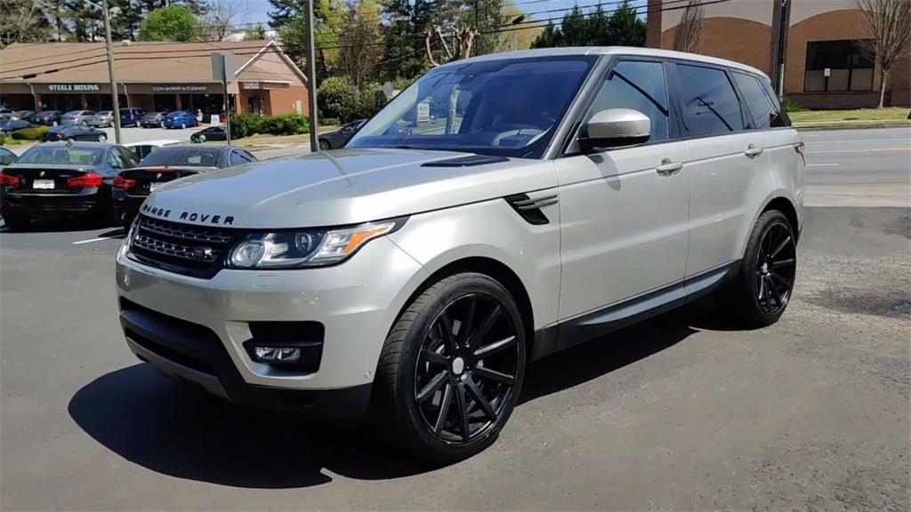Used 2016 Land Rover Range Rover Sport 3.0L V6 Supercharged SE   Sandy Springs, GA