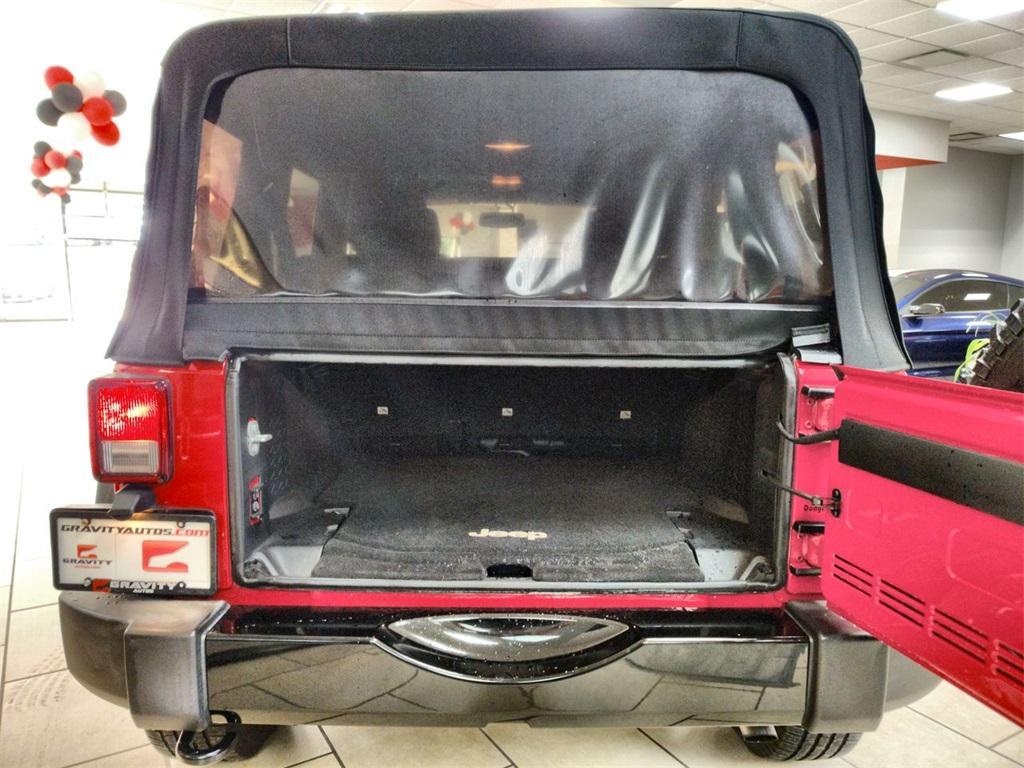 Used 2016 Jeep Wrangler Unlimited Willys Wheeler   Sandy Springs, GA