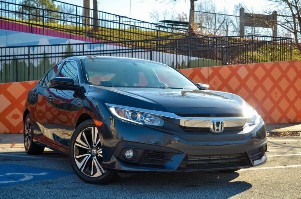 Used 2018 Honda Civic EX-T for sale $19,773 at Gravity Autos in Roswell GA 30076 2
