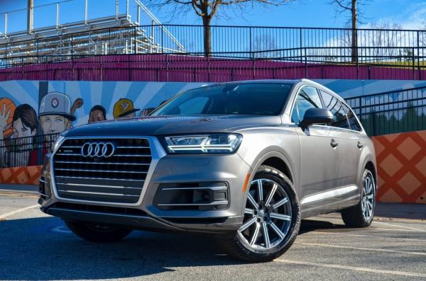 Used 2018 Audi Q7 3.0T Prestige for sale $41,791 at Gravity Autos in Roswell GA 30076 1