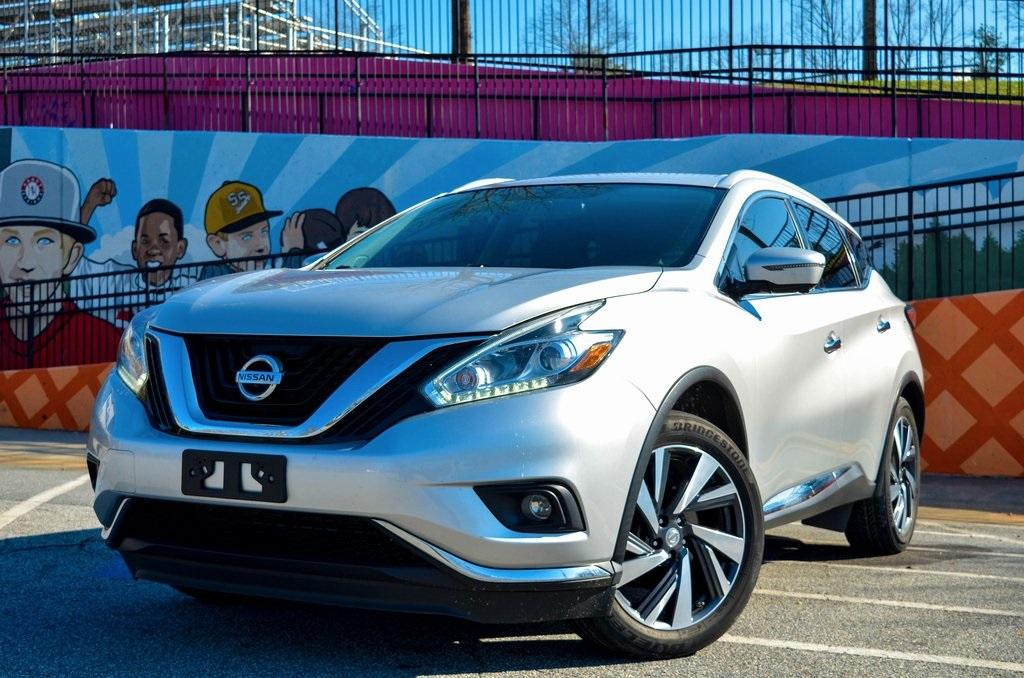 Used 2016 Nissan Murano Platinum for sale $20,985 at Gravity Autos in Roswell GA 30076 1