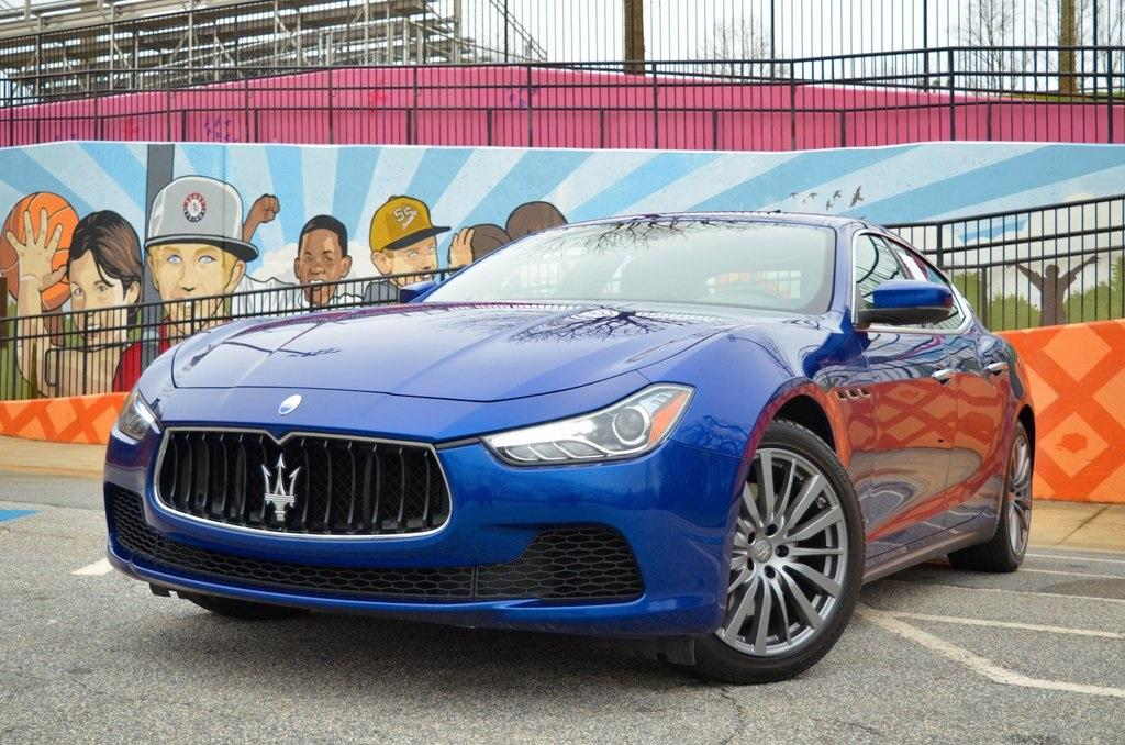 Used 2017 Maserati Ghibli Base for sale $31,895 at Gravity Autos in Roswell GA 30076 1
