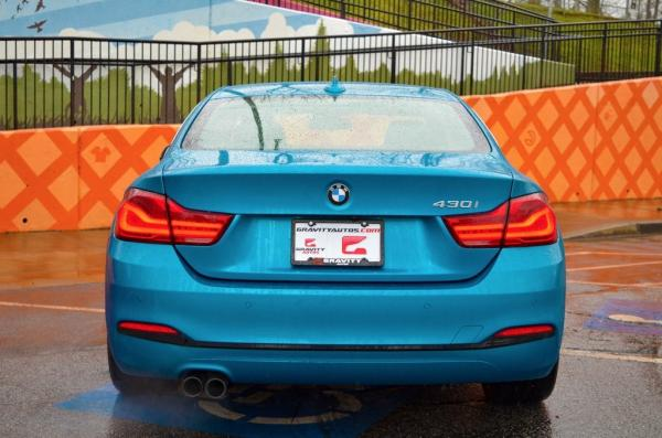 Used 2018 BMW 4 Series 430i for sale $27,985 at Gravity Autos in Roswell GA 30076 4
