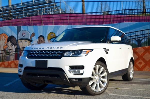 Used 2014 Land Rover Range Rover Sport 3.0L V6 Supercharged HSE for sale $29,895 at Gravity Autos in Roswell GA 30076 1