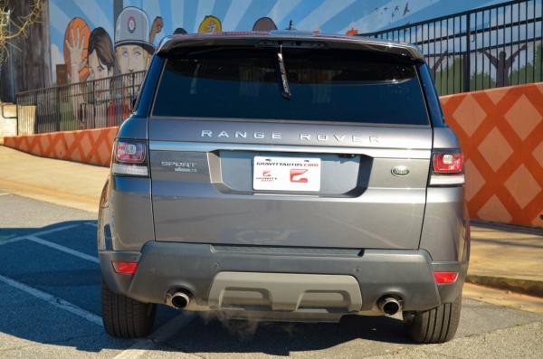 Used 2016 Land Rover Range Rover Sport 3.0L V6 Supercharged SE for sale $32,985 at Gravity Autos in Roswell GA 30076 4