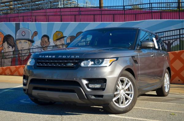 Used 2016 Land Rover Range Rover Sport 3.0L V6 Supercharged SE for sale $32,985 at Gravity Autos in Roswell GA 30076 1