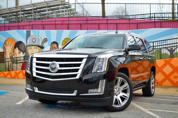 Used 2015 Cadillac Escalade Premium for sale $39,985 at Gravity Autos in Roswell GA 30076 1