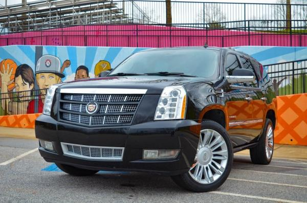 Used 2013 Cadillac Escalade Platinum Edition for sale $30,985 at Gravity Autos in Roswell GA 30076 1