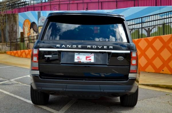 Used 2016 Land Rover Range Rover 5.0L V8 Supercharged for sale $45,841 at Gravity Autos in Roswell GA 30076 4