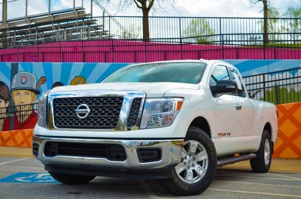 Used 2018 Nissan Titan SV for sale $25,931 at Gravity Autos in Roswell GA 30076 1