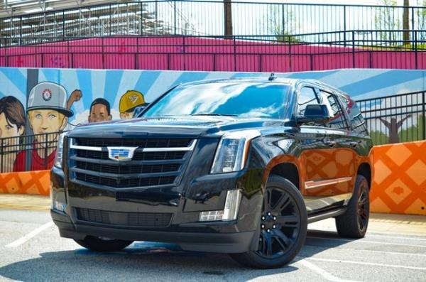 Used 2017 Cadillac Escalade Premium for sale Sold at Gravity Autos in Roswell GA 30076 1