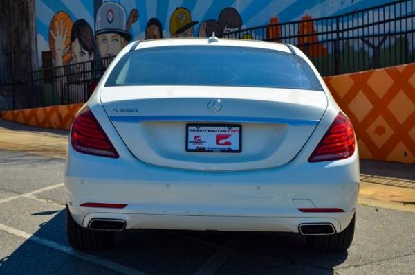 Used 2015 Mercedes-Benz S-Class S 550 for sale $41,985 at Gravity Autos in Roswell GA 30076 4