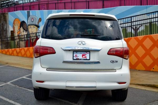 Used 2012 INFINITI QX56 Base for sale $24,895 at Gravity Autos in Roswell GA 30076 4