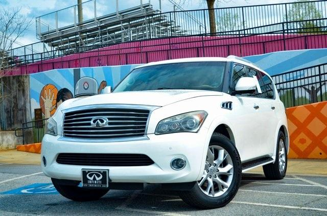 Used 2012 INFINITI QX56 Base for sale $24,895 at Gravity Autos in Roswell GA 30076 1