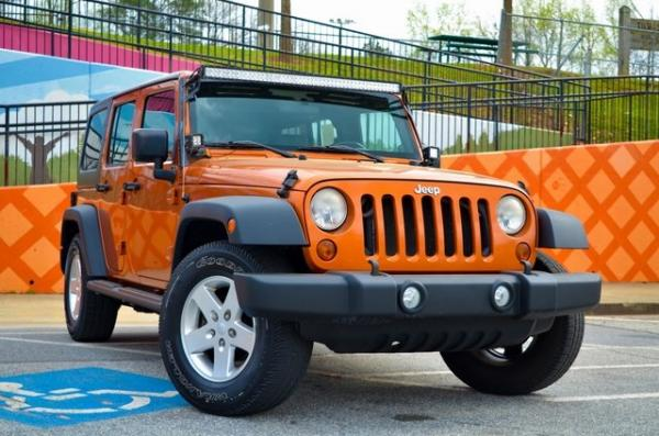Used 2010 Jeep Wrangler Unlimited Sport for sale Sold at Gravity Autos in Roswell GA 30076 2